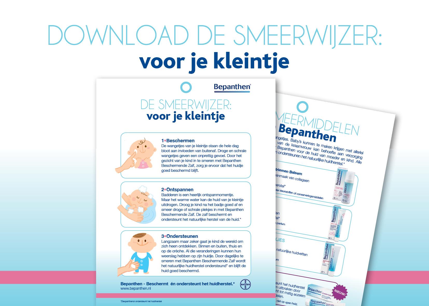 download de Bepanthen Mama Smeerwijzer